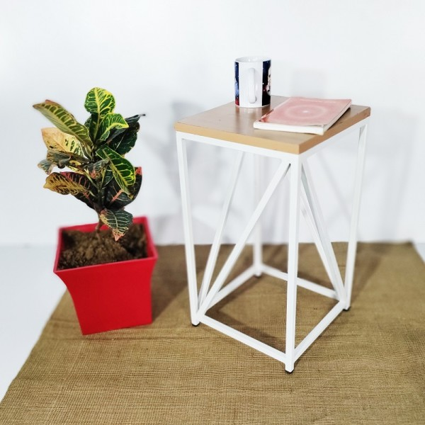 Ironix Square Iron Wrought Side Table